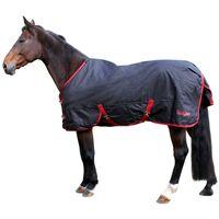 Kerbl Couverture de cheval RugBe Zero.1 Noir 115 cm 328663