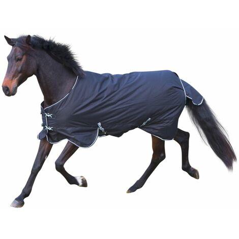 Kerbl Couverture pour chevaux RugBe 200 Noir 125 cm 326127