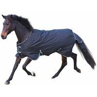 Kerbl Couverture pour chevaux RugBe 200 Noir 155 cm 326130