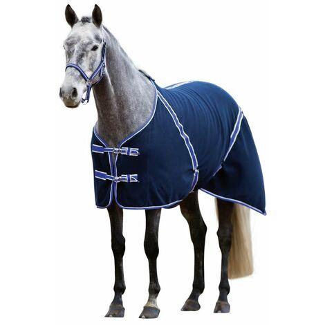 Kerbl Couverture pour chevaux RugBe Classic Bleu 125 cm 323635
