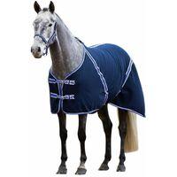 Kerbl Couverture pour chevaux RugBe Classic Bleu 135 cm 323636