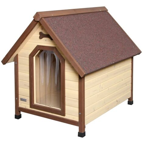 Kerbl Dog House 4-Seasons 100x83x94 cm Brown 81349 - Beige