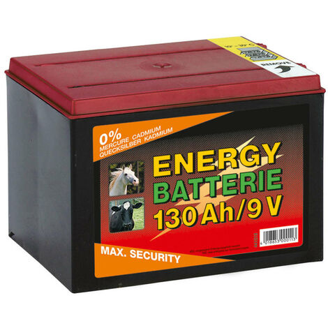 Kerbl Dry Battery Zinc Carbon 9 V 130 Ah 441219