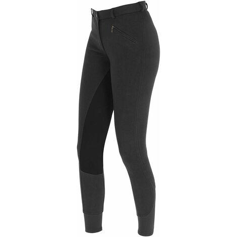 Kerbl economic pantalon d\'équitation pour femme 34 Noir - Noir