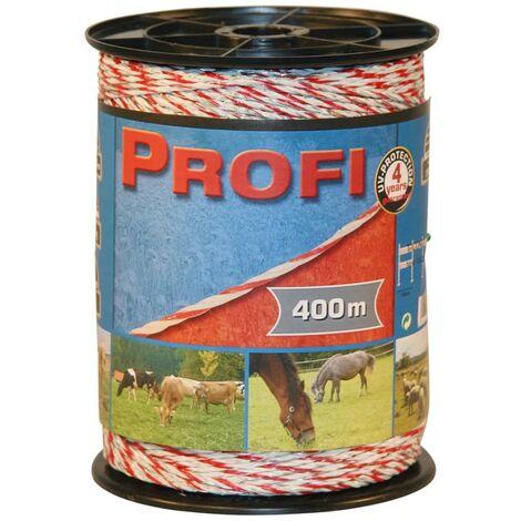 Kerbl Electric Fence Rope Profi PE 400 m 59512 - White