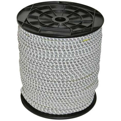 Kerbl Electric Fence Rope Rubber 50 m 7 mm 441891