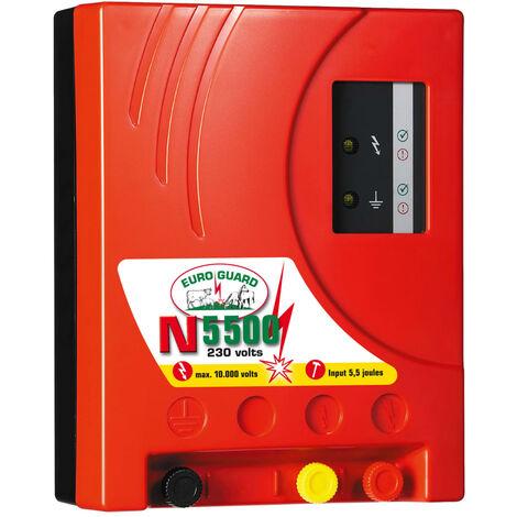Kerbl Elettrificatore Recinto Elettrico Euro Guard N 5500 Rosso