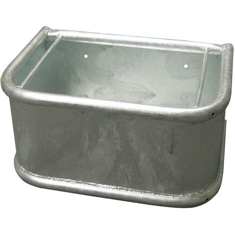 Kerbl Feeding Trough Rectangular 35 L 32483 - Silver