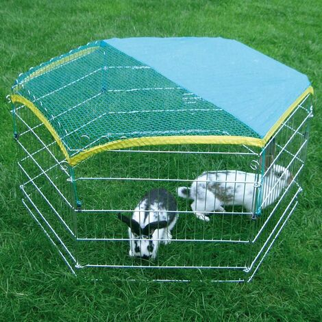 Kerbl Filet de Protection pour 82704 Enclos pour Petit Animal Vert
