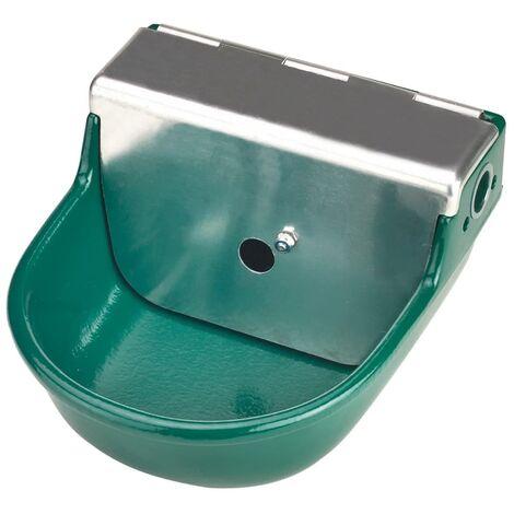 Kerbl Float Drinking Bowl S190 2 L Cast Iron Green 22190 - Green