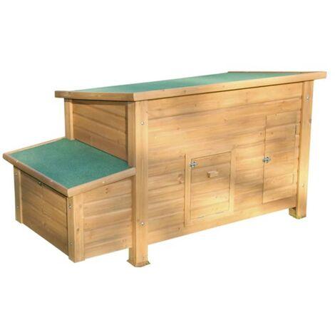 Kerbl Hen House Florentina Wood 82827 - Brown