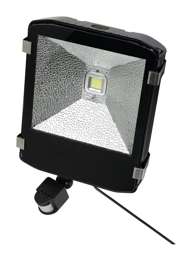 LED-Außenstrahler 80W mit Bewegungsmelder - KERBL