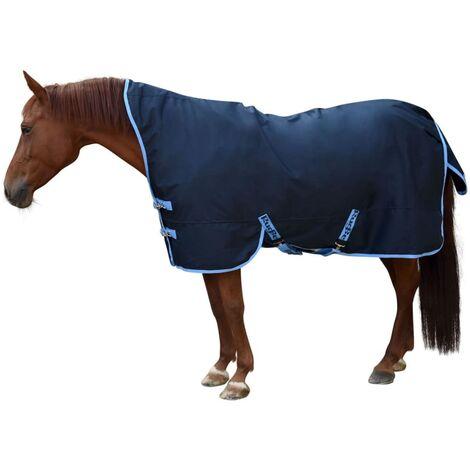 Kerbl Manta de caballo RugBe HighNeck azul 145/195 cm 328666