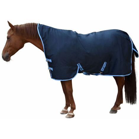 Kerbl Manta de caballo RugBe HighNeck azul 155/205 cm 328667