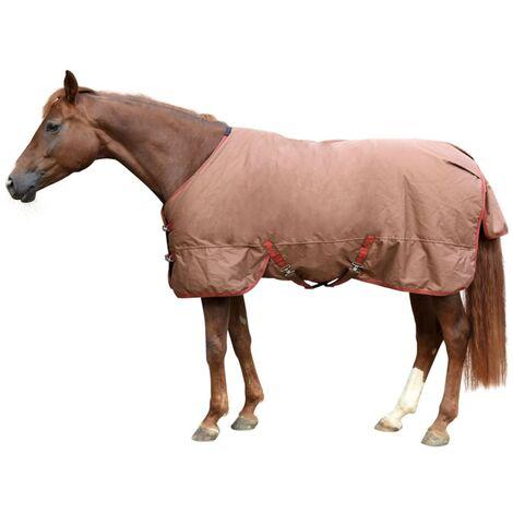 Kerbl Manta de caballo RugBe IceProtect 300g marrón 135/185 cm 328673