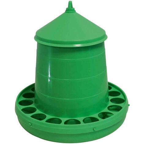 Kerbl - Nourrisseur à Trémie en Vert pour Poules - 8Kg