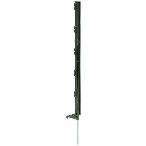 Kerbl Postes de valla eléctrica Eco plástico verde 70 cm 25 unidades