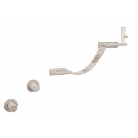 Kerbl Rascador de pared para gatos Matterhorn madera beige