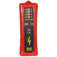 Kerbl Wireless Fence Tester 8000 V Red and Black 44669