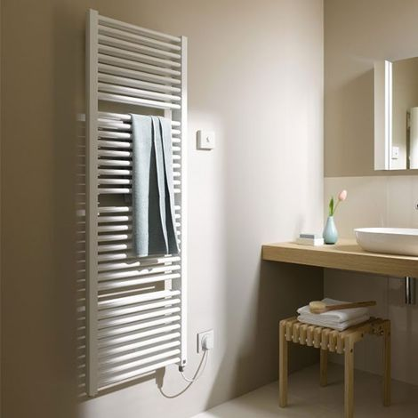 Kermi Duett-Elektro Design-Badheizkörper