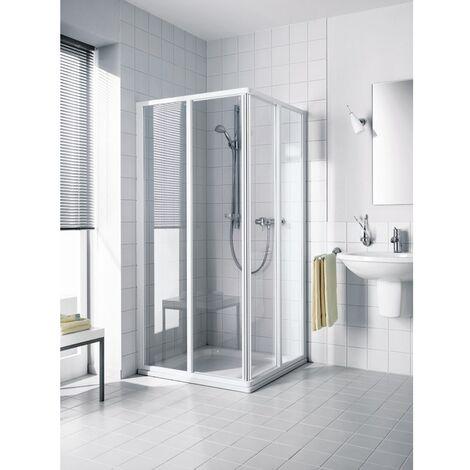 Kermi Eck-Halbteil Ibiza 2000 ED2 0900x 1850 BV: 870-892 SIMG ESG Opaco Clean