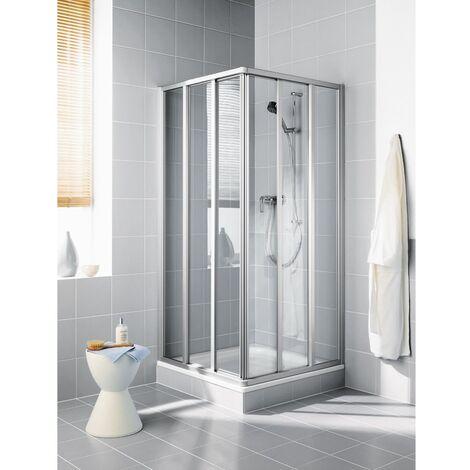 Kermi Eck-Halbteil Ibiza 2000 ED3 0750x 2000 BV: 720-742 WEI ESG klar Clean