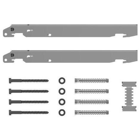 Kermi Schnellmontagekonsolen-Set für Typ 11 - 33