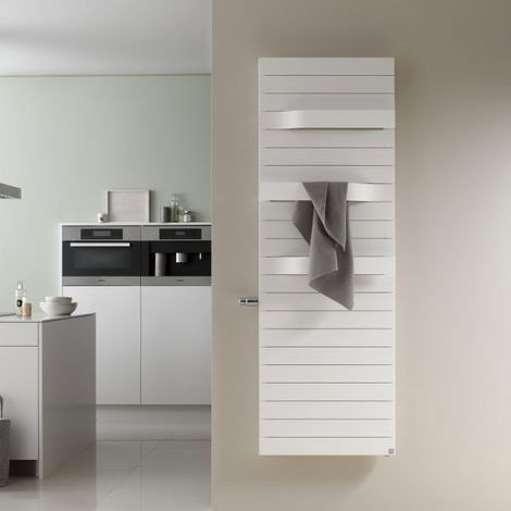 Handtuchhalter Für Heizung Montage Ohne Werkzeug Handtuchwärmer Bad Küche Weiß