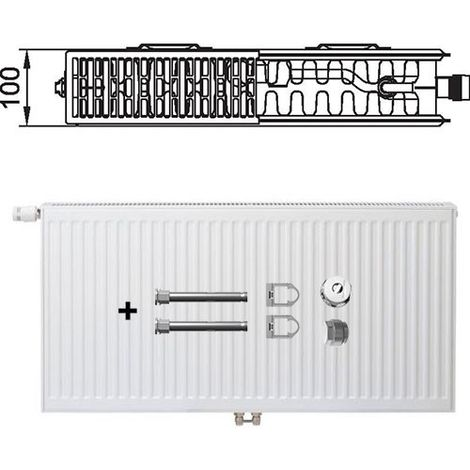 Kermi Profil Ventil Heizkörper Typ 22 Therm X2 BH 500mm BL 1400mm