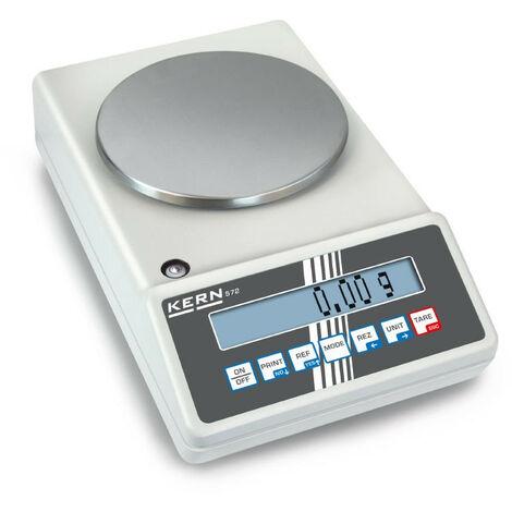 Kern - Balance de précision 572, plateau Ø 150 mm portée max. 2400 g - 572-35