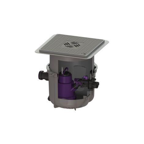 KESSEL Hebeanlage Minilift S KTP 300-S1, Bodenplatte, 280570S für Unterflurinstallation