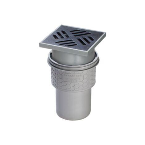 KESSEL Kellerablauf Auslauf senkrecht 150x150 mm Bodenablauf