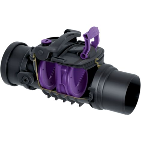 KESSEL Rückstaudoppelverschluss Rückstauverschluss 730100 aus Kunststoff DN 100