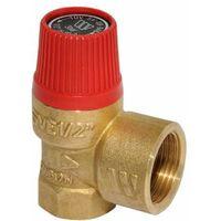 Kesselsicherheitsventil Sicherheitsventil 1/2 Zoll 3 bar Überdruckventil Heizung