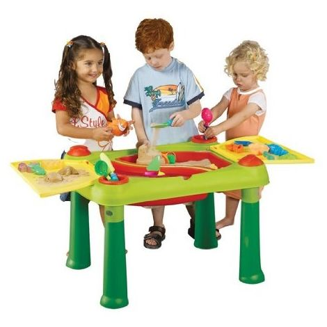 Keter 018405 Jeu De Plein Air Table D Activite Bac A Sable
