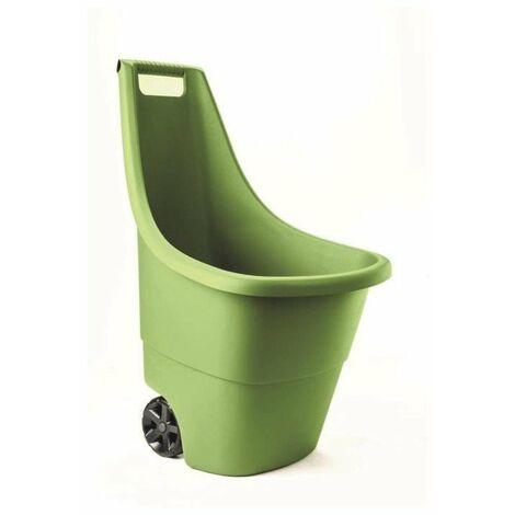 KETER 17199467 Chariot nettoyage Easy Go Marisa -Diable de jardin- Breeze - 50 L