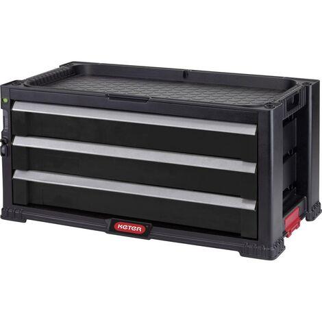 KETER 237791 Cassetta porta utensili senza contenuto Nero