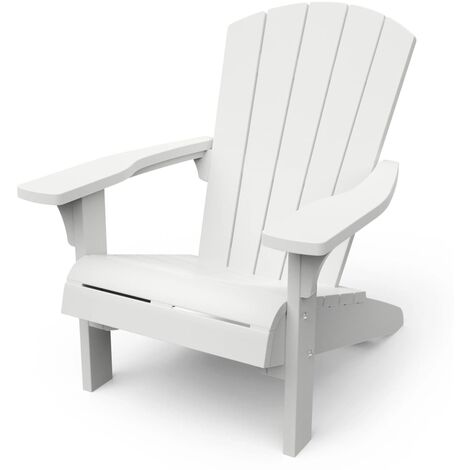 Keter Adirondack Chair Troy White