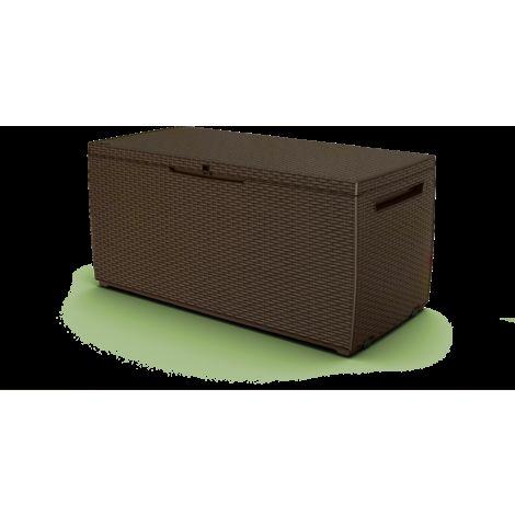 Keter - Arcón exterior Capri. Capacidad 305 litros. Color marrón