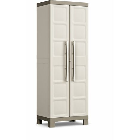 KETER   Armoire Utilitaire EXCELLENCE , Sable/Terre