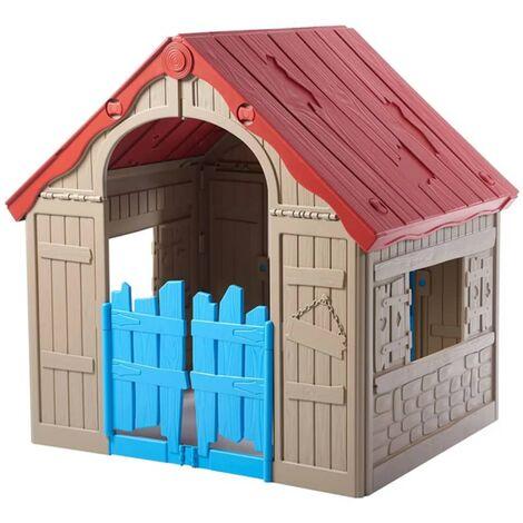 Tienda de Campa/ña Castillo Juego en casa para Infantil Azul lyrlody Tienda del Juego para Ni/ños y Ni/ñas