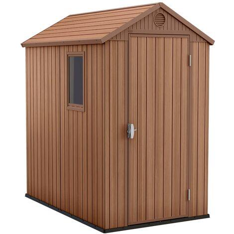 "main image of ""Keter Garden Shed Darwin 4x6 Woodlook"""