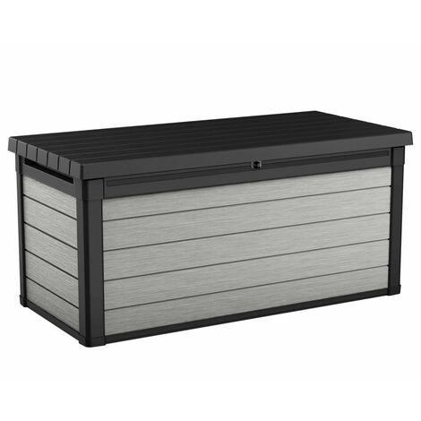 Keter Garden Storage Box Denali 570L Anthracite - Grey