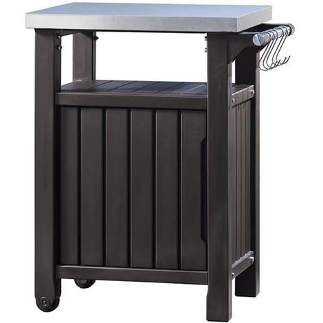 Keter Multifunctional Outdoor Table for BBQ Unity L 228936