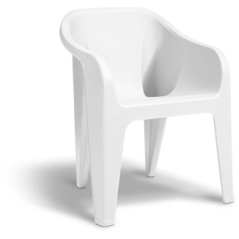 Poltrone Plastica Da Esterno.Keter Poltrona In Resina Da Giardino Per Esterno 8711245143132