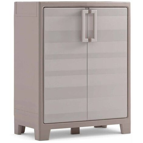 Keter Storage Cabinet with Shelves Gulliver 182 cm