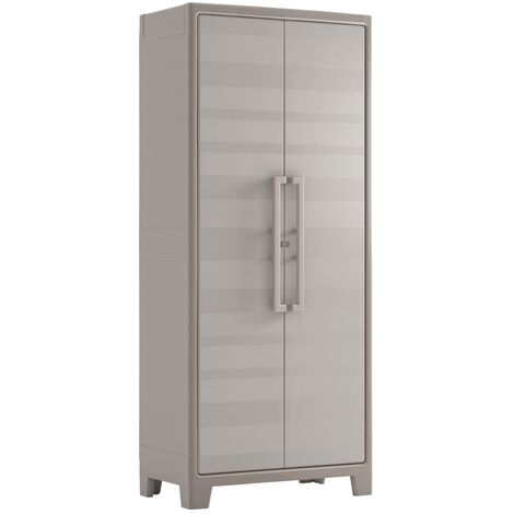 Keter Storage Cabinet with Shelves Gulliver 182 cm