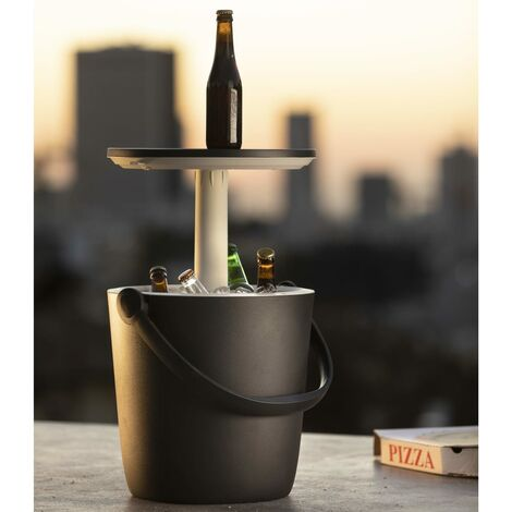 Keter Table Cooler Go Bar Anthracite - Multicolour