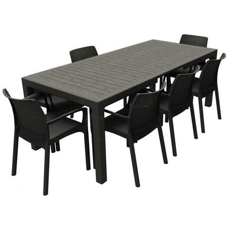 tavolo allungabile symphony da giardino