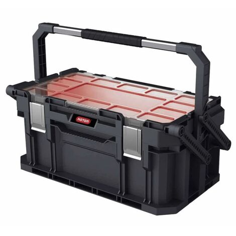 Keter Toolbox Connect Cantilever Black
